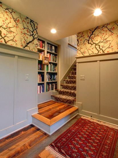 Attic Remodel, Traditional Staircase, Columbus