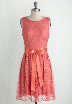 Lovely as Lychee Dress in Punch