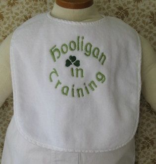 Our baby will most definitely be a hooligan in training!!  Actually, he/she will probably be born that way, no training needed! :o)