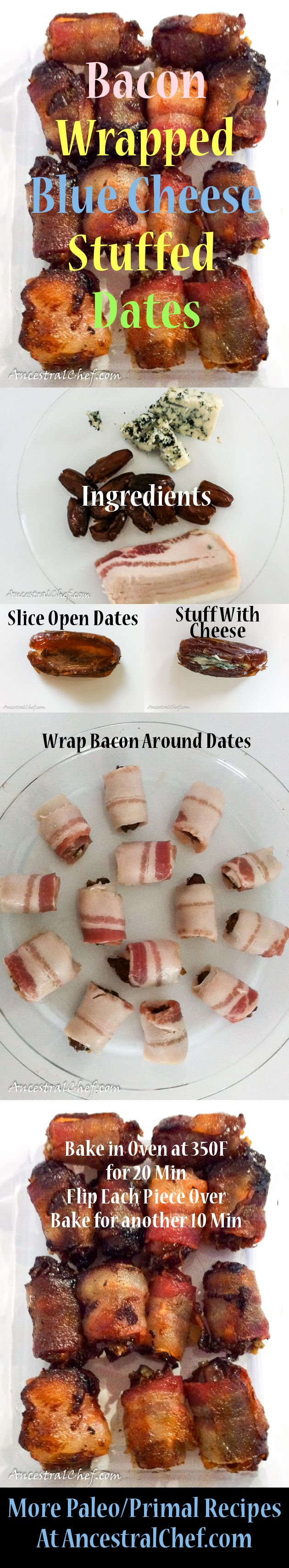 Paleo Bacon Wrapped Dates Recipe @Diane Hemingway is this what you made that night we all came over??