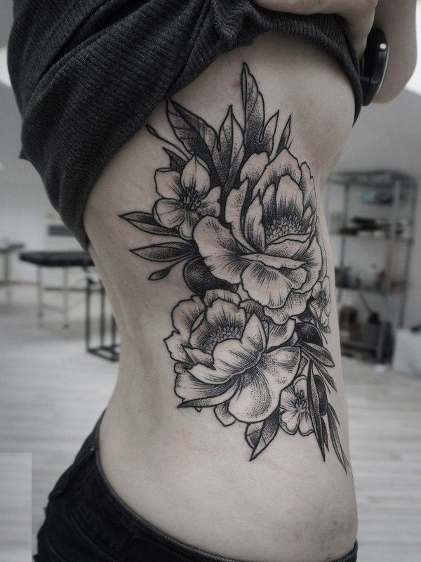 40 Beautiful Peony Flower Tattoo Meanings and Ideas 7
