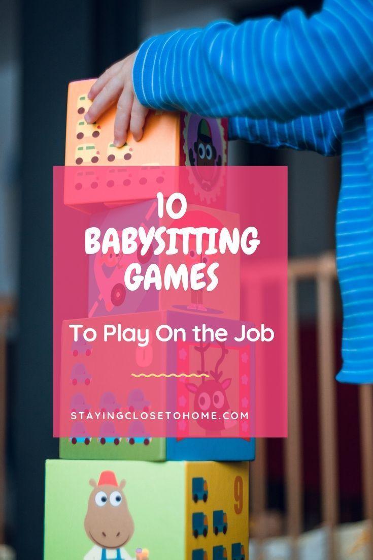 Babysitter Kidsgames Babysitting Games Keep The Best Keep The Best Babysitting Jobs By Keeping Th Babysitting Games Babysitting Jobs Babysitting Bag