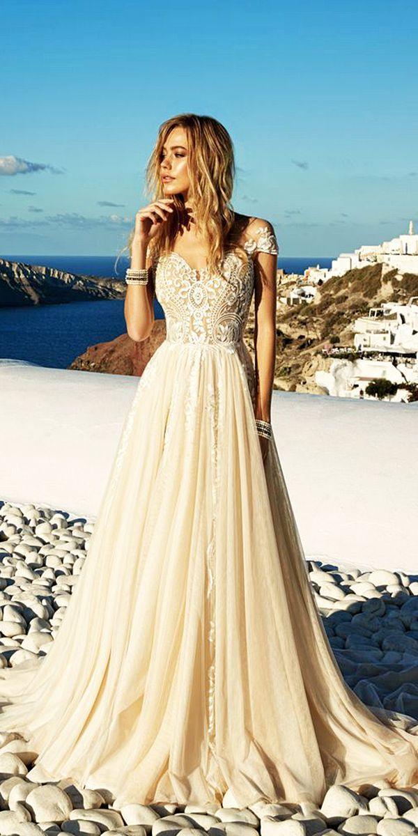 18 Trendy Eva Lendel Wedding Dresses For 2017 ❤ See more: http://www.weddingforward.com/eva-lendel-wedding-dresses/ #wedding #dresses #2017