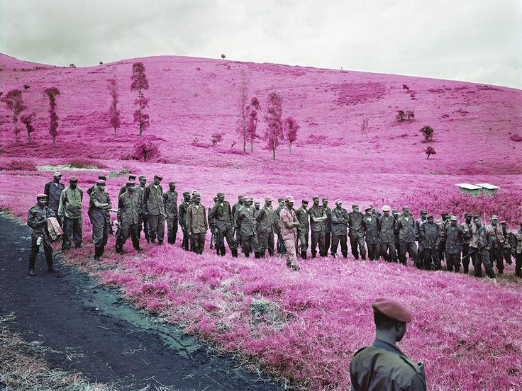 Colonel Soleil's Boys, North Kivu, Eastern Congo, 2010 by Richard Mosse