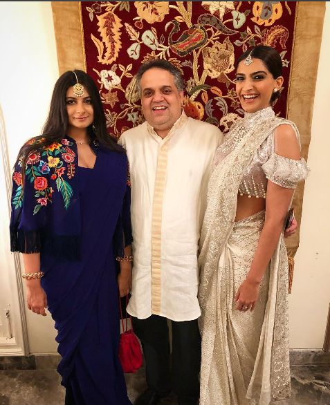 Anil Kapoors Daughters Sonam And Rhea Kapoor In Abu Jannis Dress