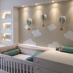 Resultado de imagem para decoração de quarto de bebe tema anjos