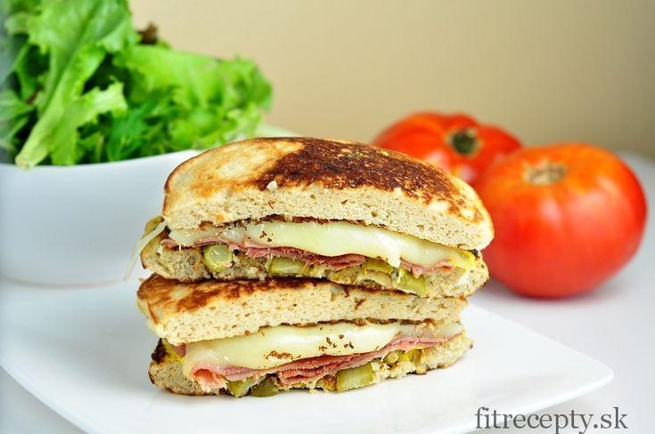 Nízkosacharidový kubánsky sendvič - FitRecepty