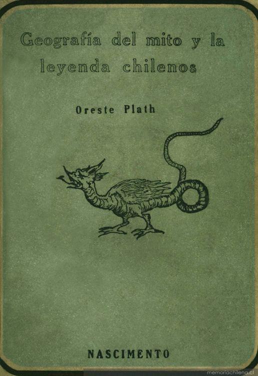 Geografía del mito y la leyenda chilena