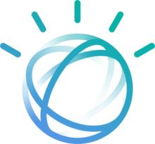 """Watson's avatar, inspired by the IBM """"smarter planet"""" logo[1]"""