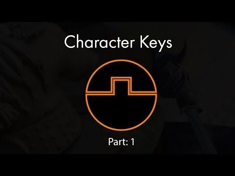 Character Keys for 3D Printing Part 1 - YouTube