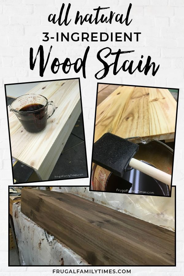 How To Make The Easiest Reclaimed Wood Stain From 3 Simple