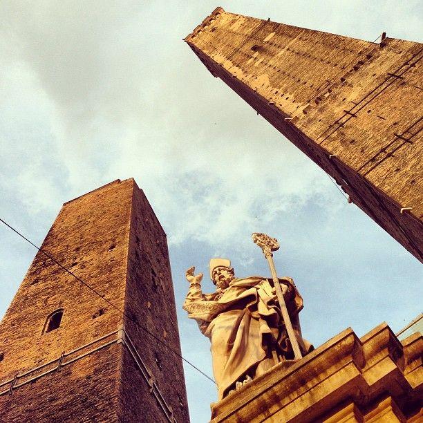 Torre Degli Asinelli in Bologna,