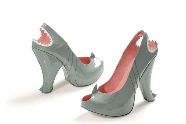 Predatory Shark Shoes! Kobi Levi Shark Shoes