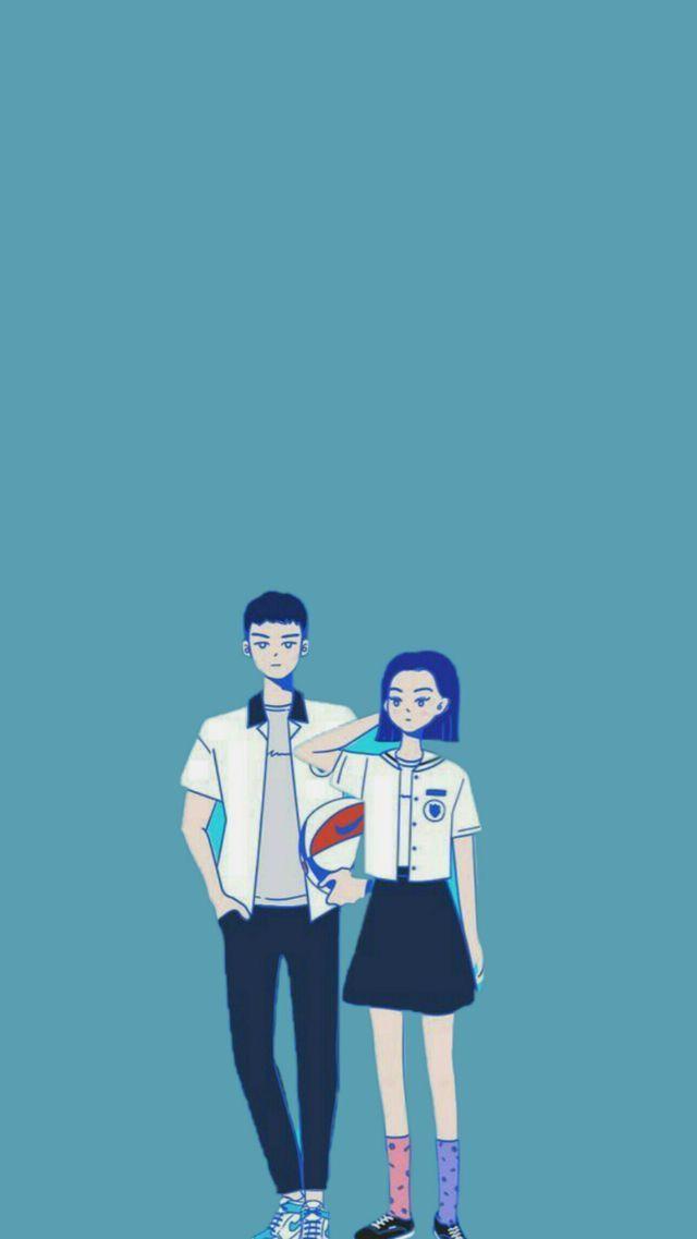 Couple おしゃれまとめの人気アイデア Pinterest 신류인 韓国 可愛い イラスト 韓国 イラスト 可愛いイラスト