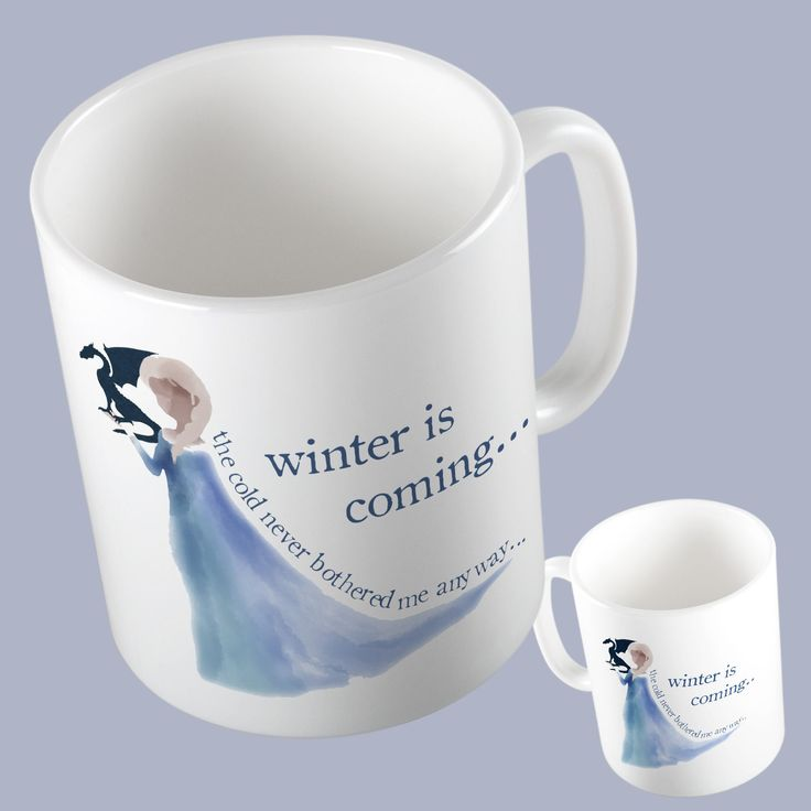 Game of Thrones Frozen Parody Mug