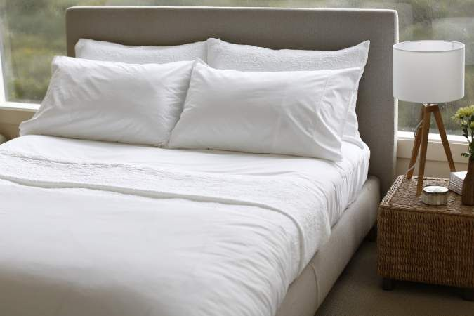 Offering luxury and high thread count, Percalle 1000 is the most exquisite quilt cover purchase perfect for your bedroom, a healthy 'chemical free' linen.