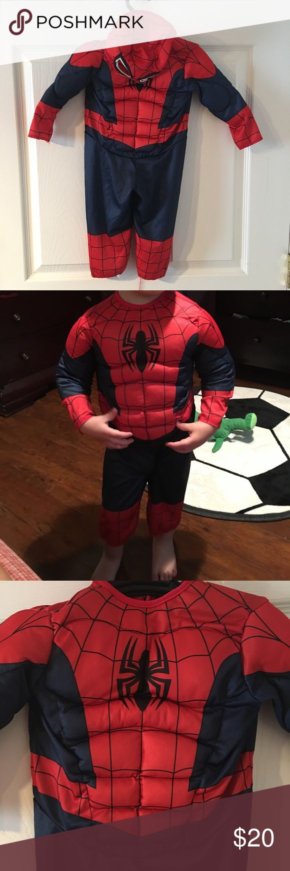 Spiderman costume for kids Spider man costume Costumes Halloween