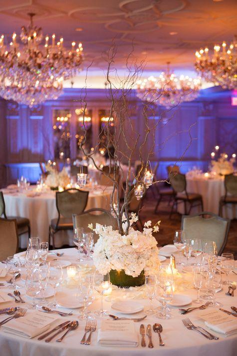 Reception Table Arrangement | Corey Cagle Photography | TheKnot.com