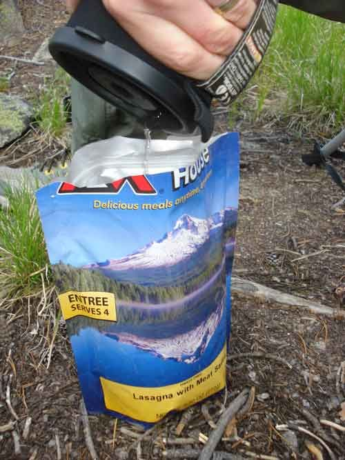 Backpacking food gets a bad rap for being bland. But FBG seeks out the best backpacking food on her recent camping trip to the Rockies.