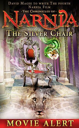 A new movie update exclusively for lovers of Narnia! The Mark Gordon Company and the C.S. Lewis Company have chosen David Magee to write THE SILVER CHAIR script--the next Narnia movie.