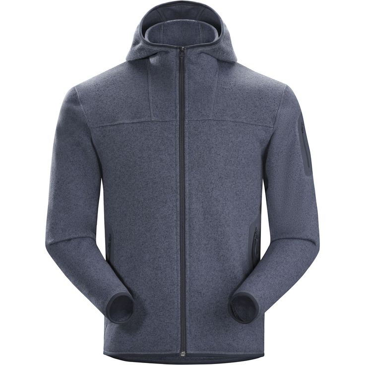 $199 Arc'teryx - Covert Hooded Fleece Jacket - Men's - Light Admiral