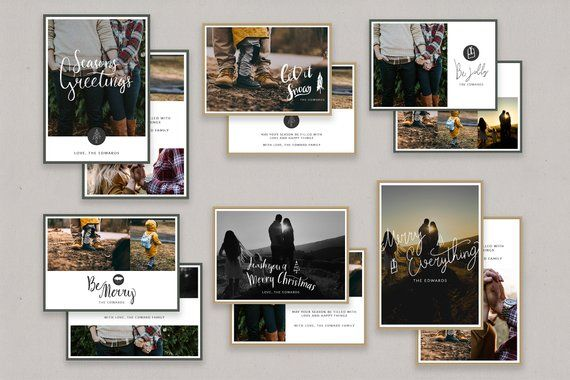 Love These Christmas Card Templates 5x7 Holiday Cards For Photoshop Seasons Greetings Husband Christmas Card Boyfriend Christmas Card Funny Holiday Cards
