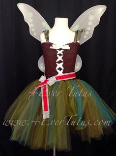 88 of the Best DIY No-Sew Tutu Costumes - DIY for Life  Pirate Fairy