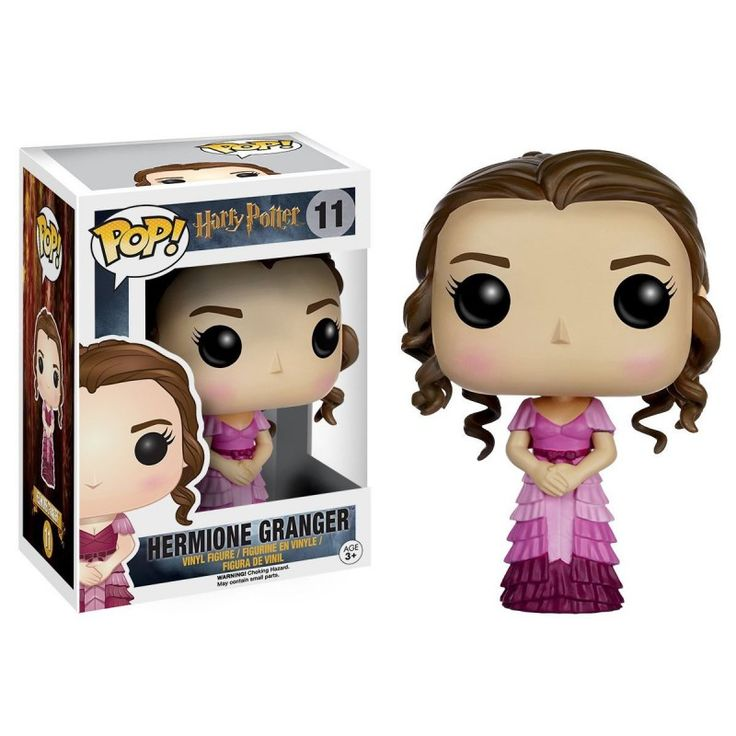 Figurine Pop! Harry Potter Hermione tenue de Bal