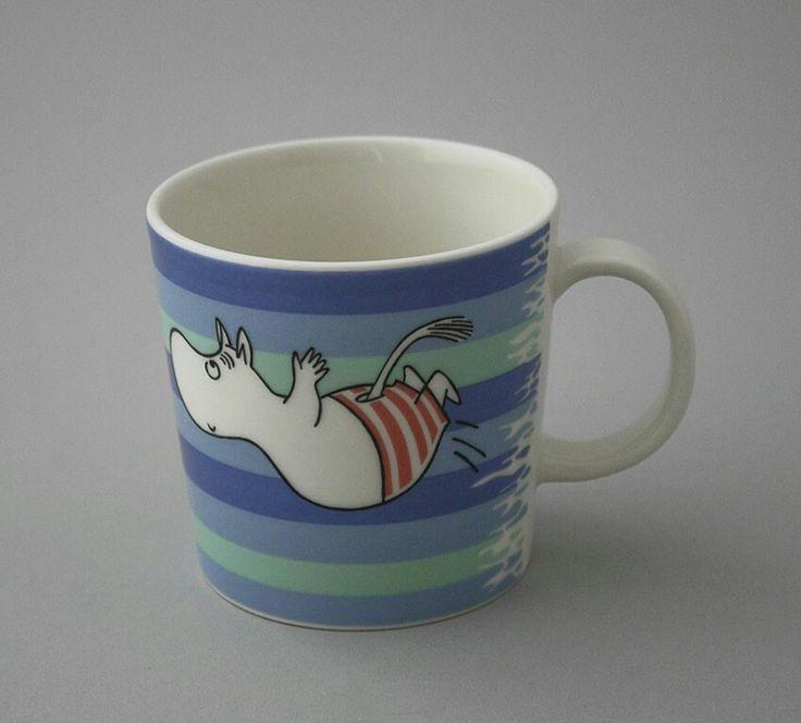 Cute Moomin mug