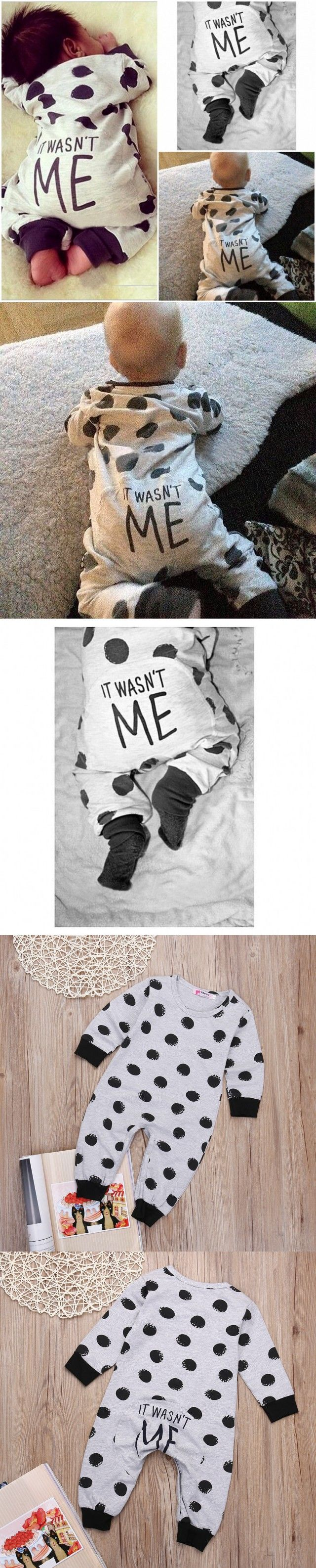 016 new born clothes baby boy clothes Long sleeve baby romper baby girl clothing…