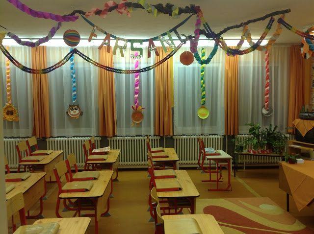 Farsangi teremdíszítés - Carnival classroom decor