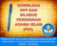 Download Revisi RPP PAI SD Kurikulum 2013 Revisi 2016 Revisi 2016 Versi Doc