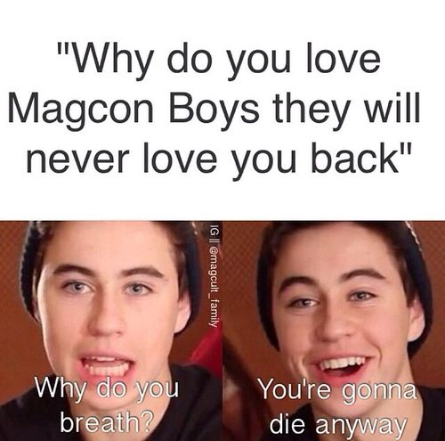funny magcon pictures with captions - Google Search