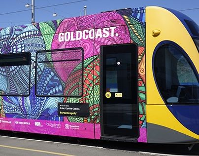 "Check out new work on my @Behance portfolio: ""Gold Coast Tram Wrap"" http://be.net/gallery/53937511/Gold-Coast-Tram-Wrap"