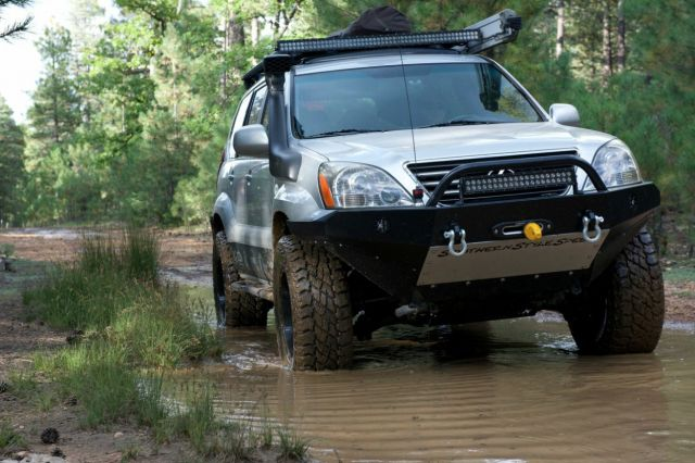 Adventure Driven's Lexus GX470