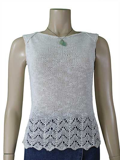 Knit Top Patterns : 1000+ ideas about Knitted Tank Top on Pinterest Knitting Daily, Knits and T...