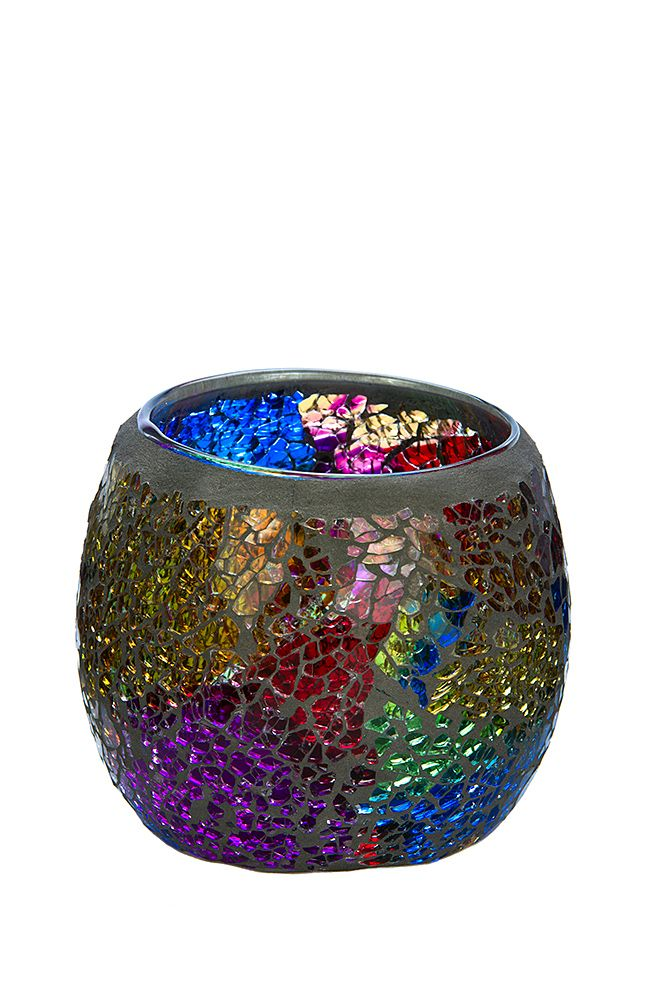 Somewhere over the Rainbow or at our website, you'll find this medium Rainbow mosaic. To see our entire range of mosaics, please click here: http://bit.ly/1zHtguh