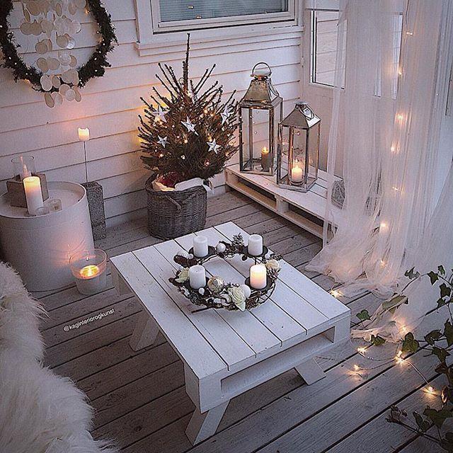 Lovely ✨✨  @kaginteriorogkunst #christmasdecor #christmastime #fairylights #jul #interior_delux