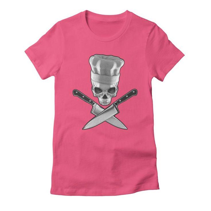 Def Chef Women's Fitted T-Shirt by Grandio Design Artist Shop
