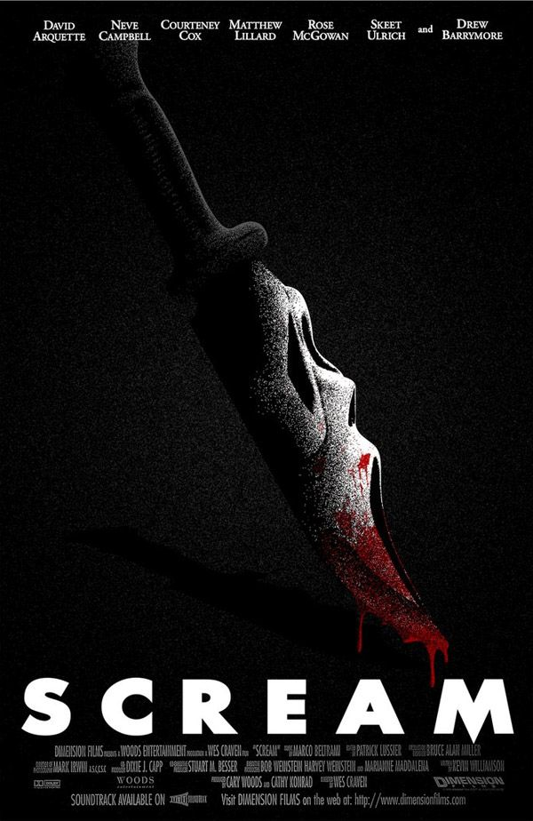 Scream Poster by SamRAW08