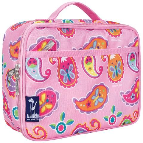 Wildkin Insulated Lunch Bag - Pink Paisley.