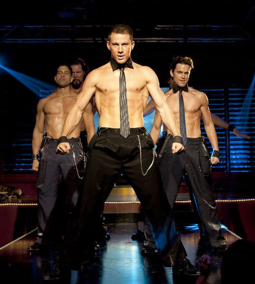 "The men from ""Magic Mike"""