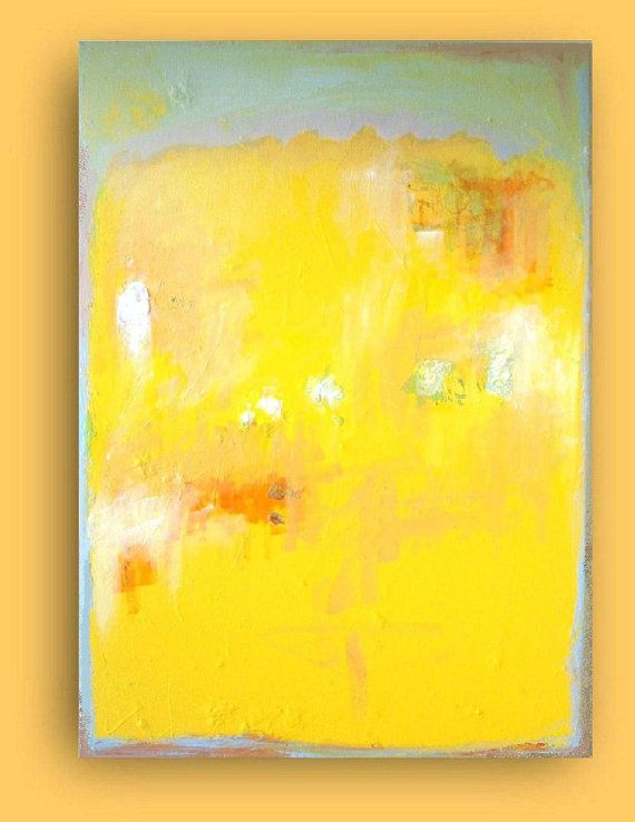 I love the overwhelming yellow in this piece.