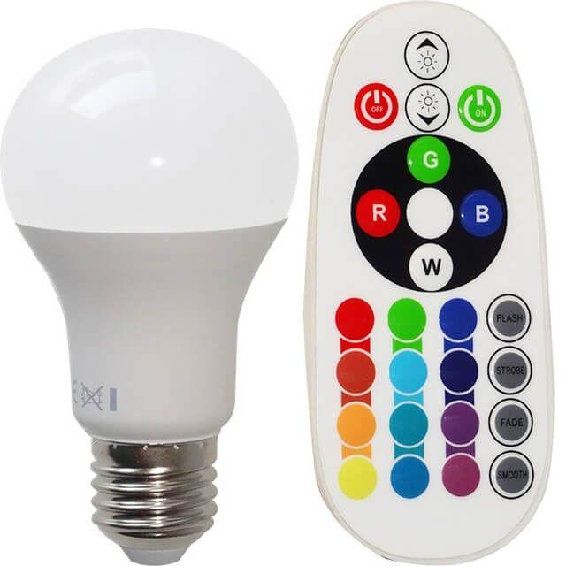 Pe langa functiile obisnuite de schimbare a culorii sau a intensitatii luminoase, becul LED E27 8W RGB sau ALB RECE ofera un consum de energie mai mic cu pana la 80%, iar acesta poate fi montat in orice dulie clasica E27. Bucura-te de confortul oferit de noul bec prin setarea culorii si a intensitatii in functie de stare sau eveniment!