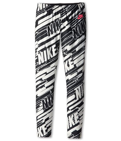 awesome Nike Kids AOP Tight (Little Kids/Big Kids) Black/Black/Hyper Pink