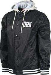 DGK Double-Play Hooded Jacket - black
