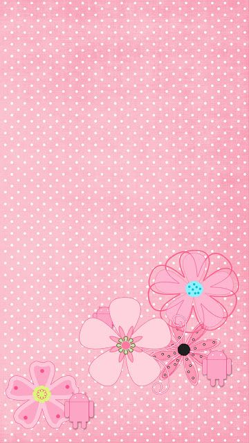 DroidBabyGirl Lady Lola Pink1 Wallpaper.