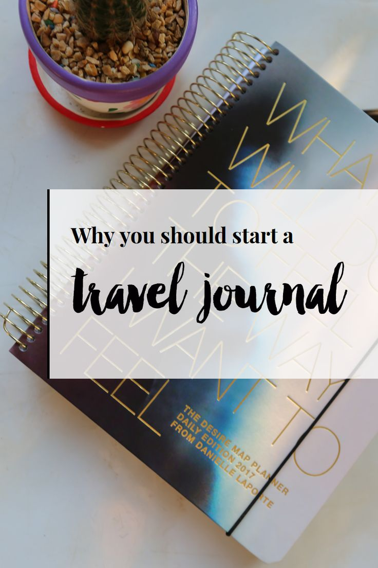 Why you should start a travel journal plus writing prompts and travel journal apps to try!