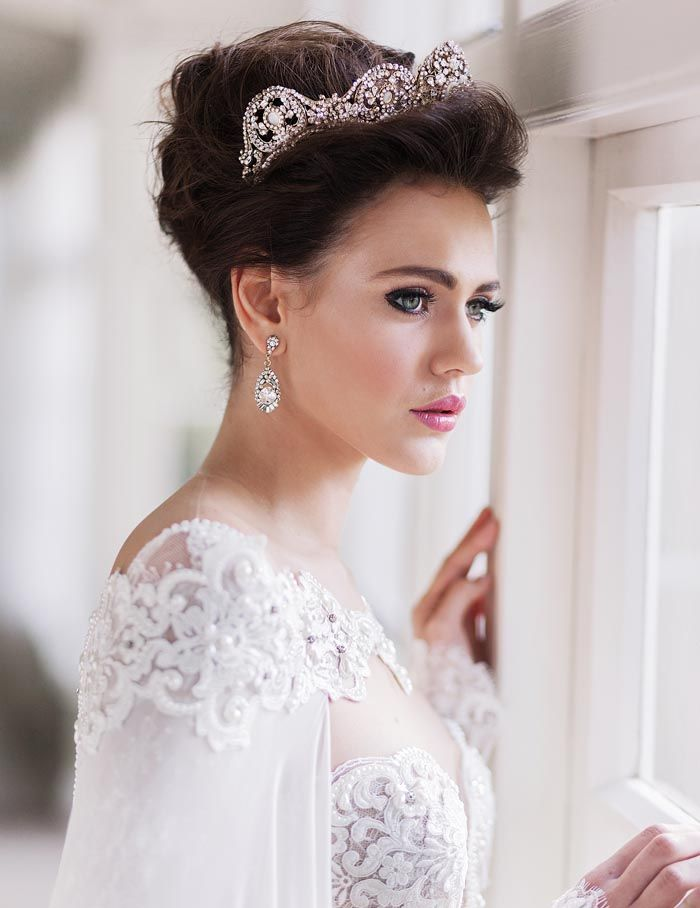 224 Best Bridal Headpieces Veils Images On Pinterest