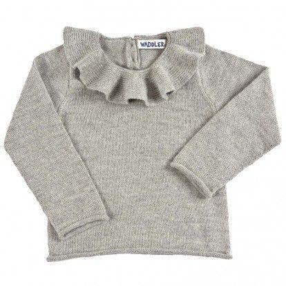 Fantastisk genser i alpakka fra Waddler  Waddler sine klær er fair trade produsert i Sør Amerika, som vil si at de er laget av arbeidere som får skikkelig betalt for jobben de g